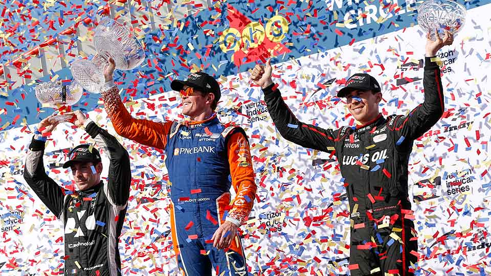 Scott Dixon Extends his Points Lead in Toronto