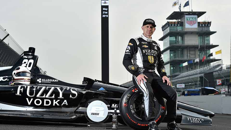 Ed Carpenter on Pole for the Indy 500