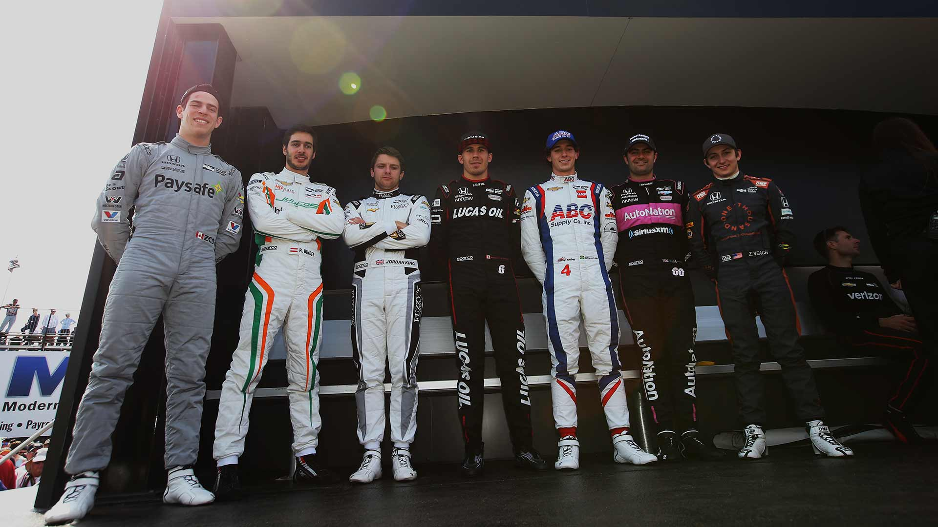 IndyCar Rookies at the Firestone Grand Prix of St.Petersburg