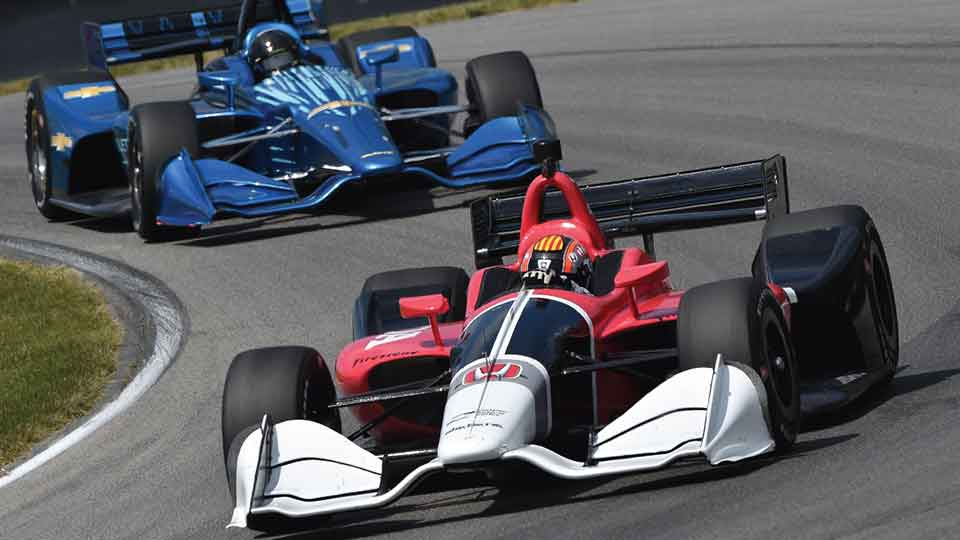 New IndyCar Aero Kits get some first looks on track