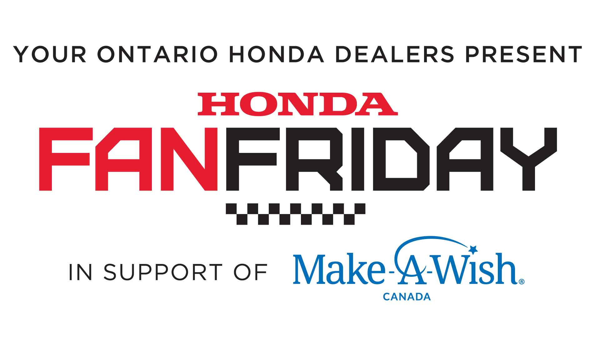 Honda Indy Toronto Raises Nearly $90,000 for Make-A-Wish Canada for Second Consecutive Year