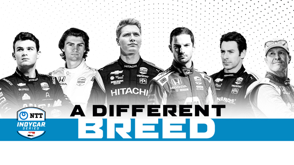 INDYCAR's a different breed campaign