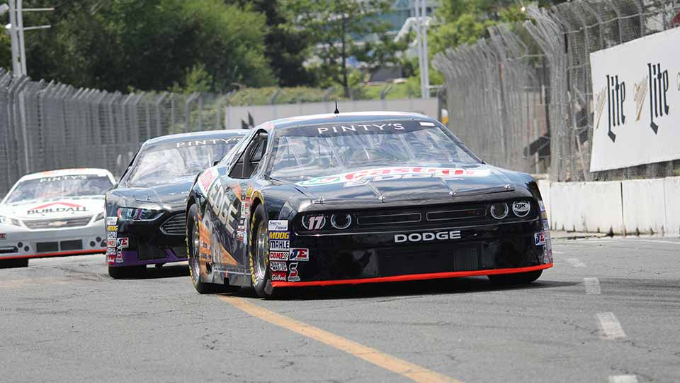 NASCAR Pinty's Series Races on the streets of Toronto