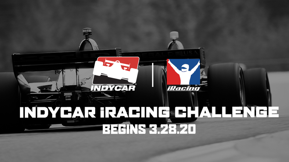 INDYCAR to Debut iRacing Challenge, Beginning March 28